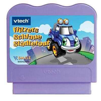VTech 80-092504 - V.Smile Lernspiel Flitzers schlaue Städtetour