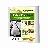 Agfabric Warm Worth Floating Row Cover & Plant Blanket, 0.55oz Fabric...