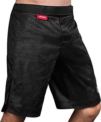 Hayabusa Hexagon MMA Fight Shorts - Black, Medium