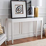 Safavieh Home Collection Mid-Century Scandinavian Kayson White Console Table