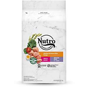 NUTRO NATURAL CHOICE Natural Adult & Senior Dry Dog Food for Small & Toy Breeds
