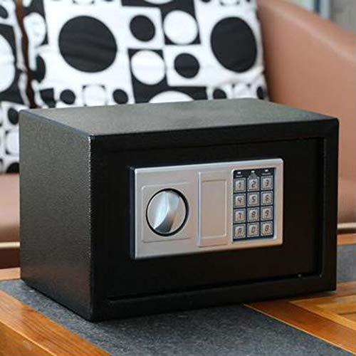 Klein Tresor Elektronik Zahlenschloss Mit Schlüssel Möbeltresor Wandtresor Minitresor Digital Elektronische Sicher 8,5 L Große Kapazität 31 x 20 x 20 cm (2-5 Werktage Lieferung)