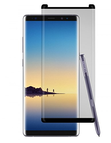 Gadget Guard Black Ice Cornice 2.0 Full Adhesive Tempered Glass Screen Guard for Samsung Galaxy 8 Note - GGBIC2C208SS03A
