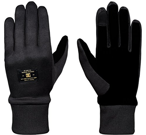 DC Shelter Snow/Ski Liner Gloves Black