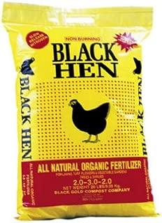 Black Gold Compost 60217 Chick Manure, 20 lb