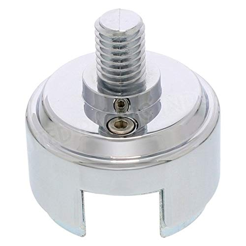"""United Pacific - 1/2""""-13 Thread-On Shift Knob Chrome Mounting Adapter for Eaton-Fuller Style 13/15/18 Shifter"""