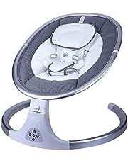 Baby schommels Draagbare Automatische Babyschommelingen voor baby's 4-Snelheid Verstelbaar veilig rustgevend voor baby met muziekdoos Afneembare wasbare matras ademende gaas en veiligheidsgordel