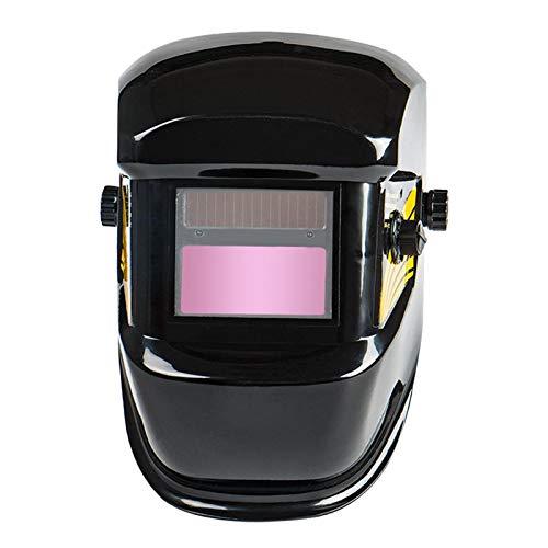 MagiDeal Caretas para Soldar, Careta Soldar Automatica, Casco de soldadura Ajdustable Oscurecimiento Automaticamente SoldaduraTapa de Protección de ojos Sombra
