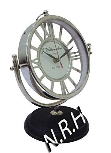 Nautical Replica Hub Diseñador Redondo Reloj Mesita Mesita Escritorio Clásico 1720 Relojes Coleccionables Regalo Artículo