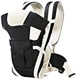 Baby Desire Baby Front Facing Breathable Carrier 4 in 1 Infant Backpack. (Black)