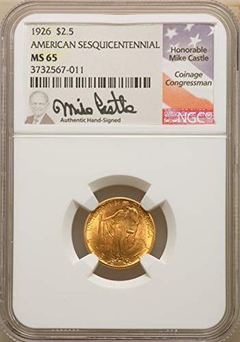 1926 Gold Commemorative Other MS65 NGC