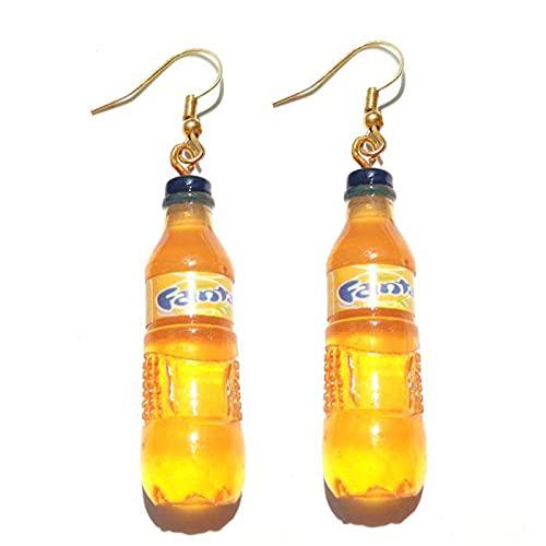 XCWXM 30 Stile süße Flasche Ohrringe Mädchen Frauen Frauen Anhänger Geschenke süße Cola Wodka Whisky Bier Rotwein Neue interessante Mode-13
