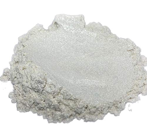 51g/1.8oz 'PURE PEARL WHITE' Mica Powder Pigment (Epoxy,Resin,Soap,Plastidip) Black Diamond Pigments®