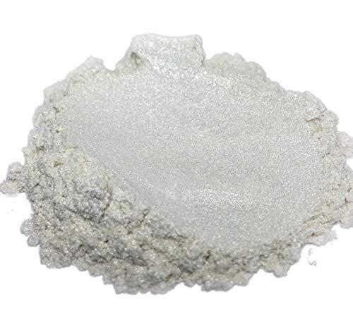 (51g/1.8oz) 'PURE PEARL WHITE' Black Diamond Pigments Multipurpose DIY Arts and Crafts Additive | Natural Bath Bombs, Resin Art, Paint, Epoxy, Soap, Nail Polish