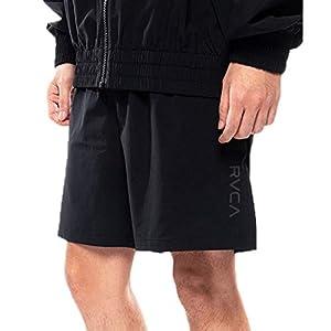 RVCA(ルーカ) メンズTEXTER WS SHORT ブラック 黒 ウォークパンツ サーフパンツ メンズ ハイブリット ボード ナイロン ショーツ サーフ 半パン 水陸両用 ハイブリットショーツ bb041-605
