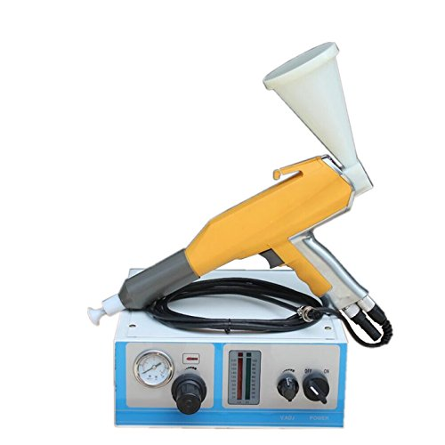 Verniciatura a polvere elettrostatica macchina pistola a spruzzo per verniciatura a polvere color Test