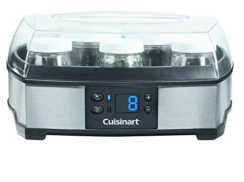 Cuisinart YM400E Joghurt- und Frischkäsebereiter (40 Watt) silber