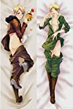 Moe Pillow Hetalia - Azis Powers Male Anime Hugging Body Peach Skin 160x50cm Pillowcases