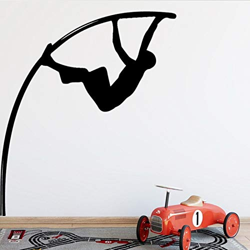 Wopiaol Wapens Muursticker thema Staafhoogspring Home achtergrond XL 58 cm X 63 cm
