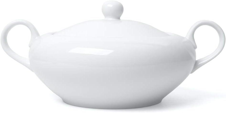 'Holst Porcelana Te 001sopera 2,5l con Tapa Culina, Color Blanco, 25.3X 25.3X 14.6cm