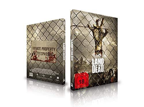 Land of the Dead, Limited Mediabook Edition, Cover B, nur 777 Exemplare, OOP, Blu-ray, Saturn/Mediamarkt exklusiv, Uncut, Regionfree