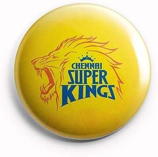 AVI Chennai Super Kings CSK Yellow Regular Size Fridge Magnet Regular Size 58mm MR8002074
