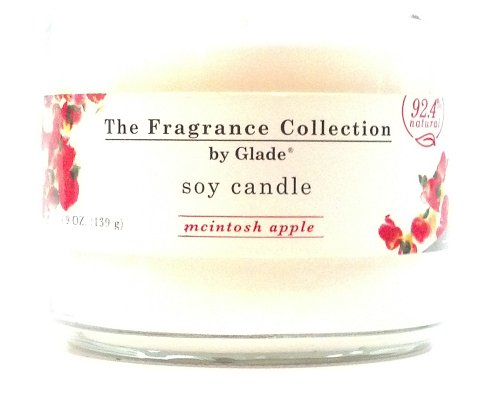 The Fragrance Collection By Glade Soy Candle Mcintosh Apple Scented