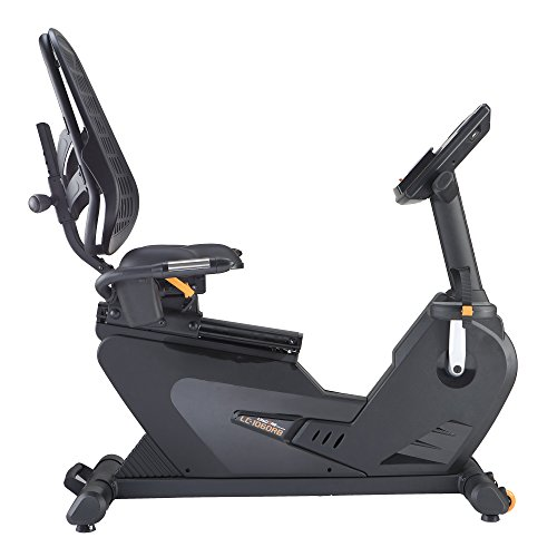 Best Deals! LifeCORE Fitness 1060RB Recumbent Exercise Bike, Black Frame