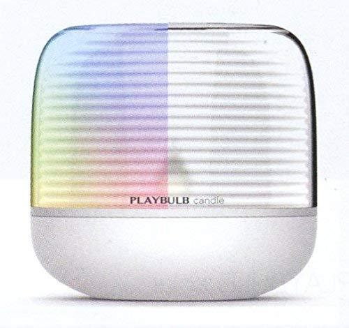 MiPow BTL305-S A++ to A+, LED-Kerze mit App-steuerung, Plastik, 0.04 W, Transparent, 9.2 x 9.2 x 8.9 cm