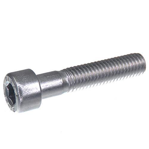 Vis à tête cylindrique SECCARO M8 x 40 mm, acier inoxydable V2A VA A2, DIN 912 / ISO 4762, six pans creux, 20 pièces