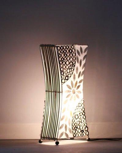 Lampada da tavolo asiatica Sunrise (LA12-17), Designer Bali luce della decorazione