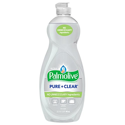 Palmolive Ultra Liquid Dish Soap, Pure and Clear, 32.5 Fl Oz