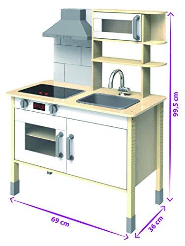 Eichhorn 100002494 – Spielküche aus Holz - 2