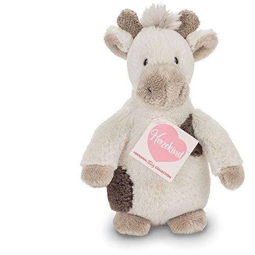 Hermann Teddy Collection Kuscheltier Giraffenbaby Pünktchen mit Rassel 20cm