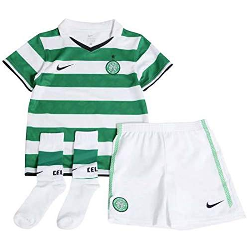 NIKE Celtic Glasgow Home Mini-Kit Kinder Trikot-Set , Mehrfarbig (Black/White/Gym Red 001), 45 EU