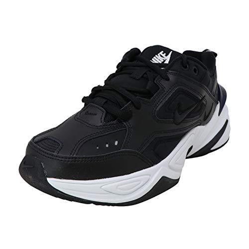 Nike M2K Tekno, Zapatillas de Running para Asfalto para Hombre, Multicolor (Black/Black/Off White/Obsidian 002), 41 EU