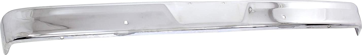 Front Bumper Compatible with FORD F-SERIES 1967-1977 Chrome