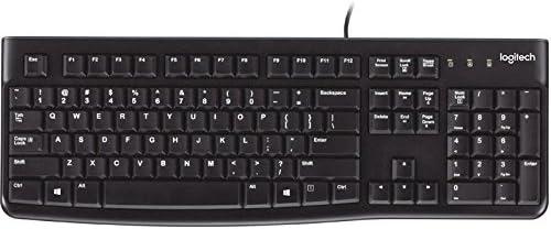 Logitech 920-002478 Keyboard K120,Black