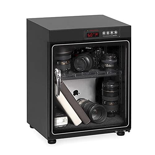 N\C Gabinete seco deshumidificador de Lentes de cámara, gabinete seco electrónico, para Lentes y Equipos de cámaras DSLR, silencioso y Ahorra energía LKWK