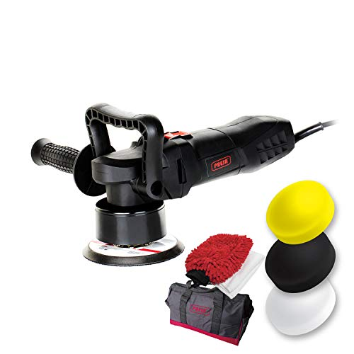 Presa Turbine 6' All-in-One Dual Action DA Random Orbital Polisher Kit with Polishing Pads and...