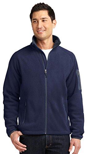 Port Authority® Enhanced Value Fleece Full-Zip Jacket. F229 Navy/ Battleship