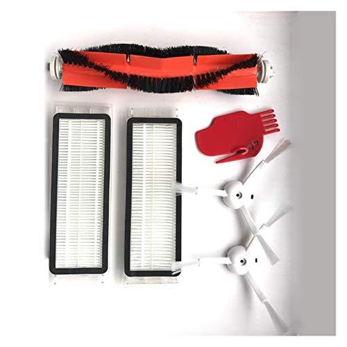 IUCVOXCVB Accesorios de aspiradora Cepillo Lateral del Filtro HEPA Ajuste