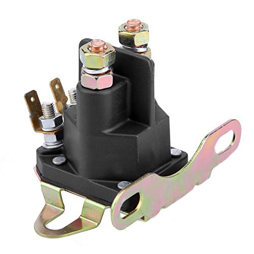 Prosperveil Relé solenoide de arranque de 4 polos para cortacésped y lancha motora Briggs Stratton