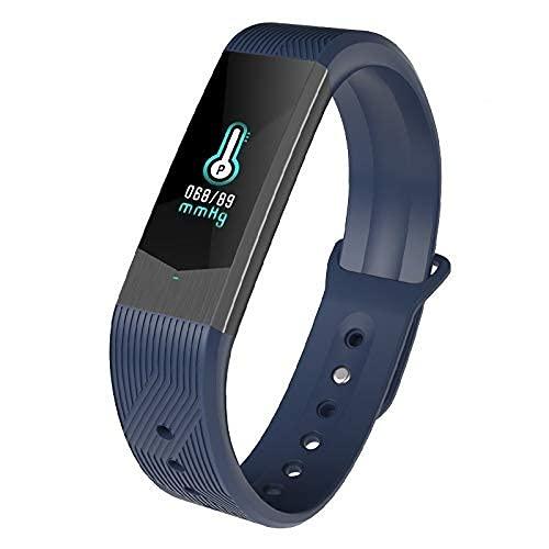 Smartwatch Cardiofrequenzimetro Orologio Fitness Tracker Android iOS Uomo Donna Bambini Impermeabile IP67 Cardio da Polso Smart Watch Braccialetto Pedometro Contapassi per iPhone Samsung Huawei