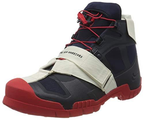 Nike SFB Mountain/Undercover, Scarpe da Trekking Uomo, Obsidian/University Red/Dark Obsidian, 41 EU