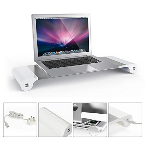 Dazone Soporte de monitor para monitor, ordenador portátil, iMac/MacBook.