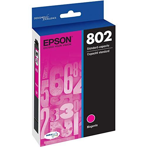 EPSON T802 DURABrite Ultra Ink Standard Capacity Magenta Cartridge (T802320-S) for select Epson WorkForce Pro Printers