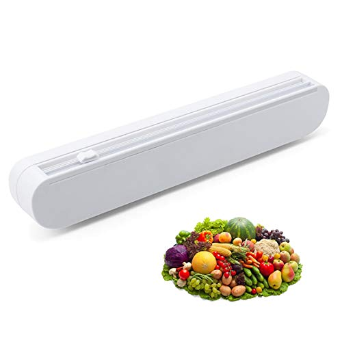 Dispensador De Film Transparente Cortador De Envoltura De Plástico Cortador De Película Plástica...