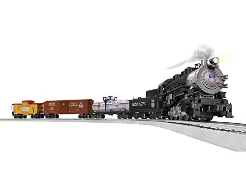 Lionel Union Pacific Flyer LionChief 0-8-0 Set with Bluetooth Capability, Electric O Gauge Model Train Set with Remote