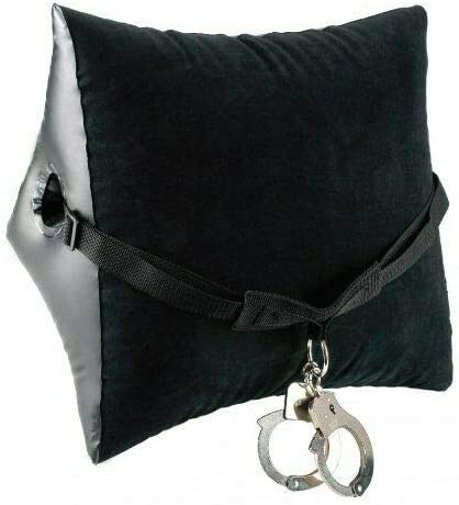 Velvety-Soft Financial sales sale Position Pillowwith Fun - Free shipping anywhere in the nation Cuffs Black